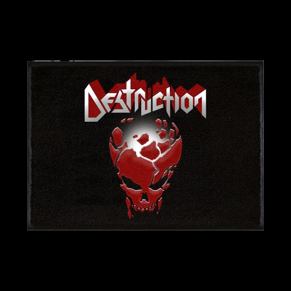 """Doormat """"Red Skull"""" [black]"""