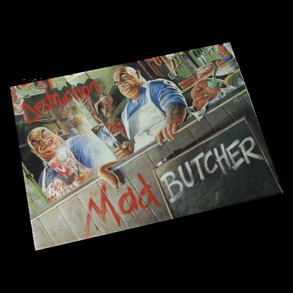 "Glass Cutting Board ""Mad Butcher"""