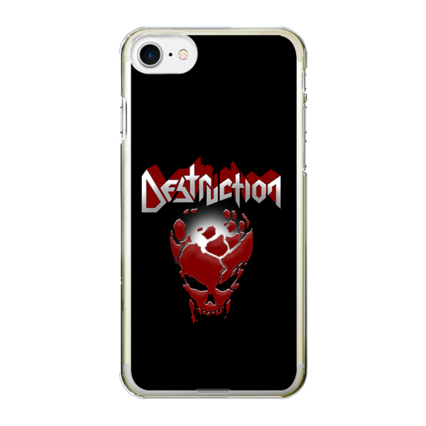 "Smartphone Case ""Red Skull"" [black]"