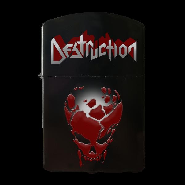 "Gasoline Lighter ""Red Skull"" [black]"
