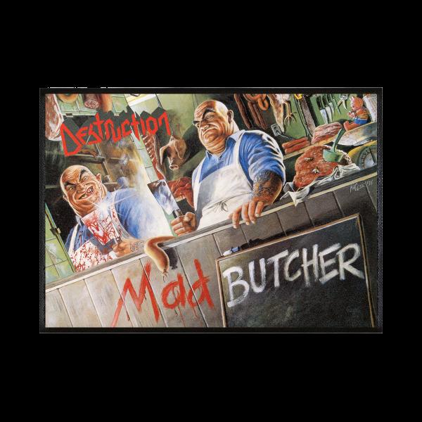 """Doormat """"Mad Butcher"""" [black]"""