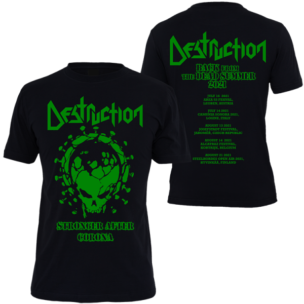 SPECIAL LIMITED SUMMER EDITION 2021 T-Shirt Stronger after Corona [Green Print]