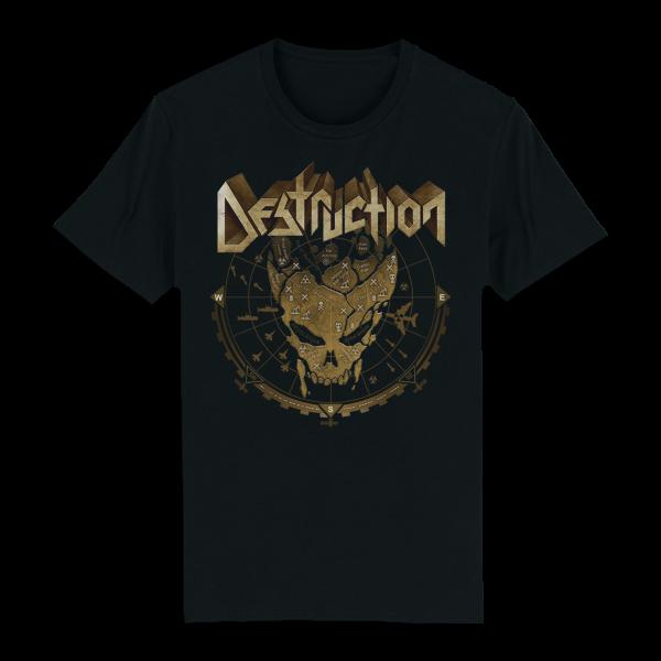 T-Shirt Sonar Skull [schwarz]