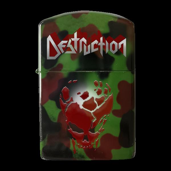 "Feuerzeug ""Red Skull"" [camo]"