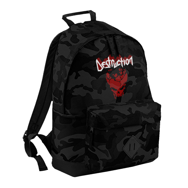 "Backpack ""Red Skull"" [Dark Camo]"