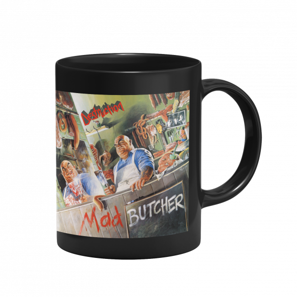 """Cup """"Mad Butcher"""" [black]"""