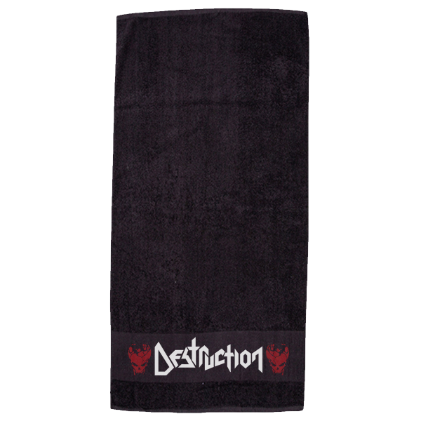 Destruction Towel [black]