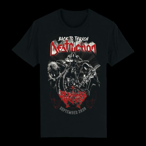 T-Shirt Back to Thrash [black]