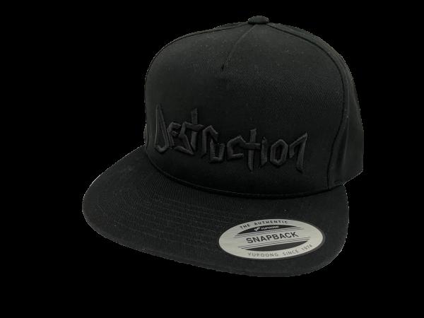 Cap Destruction 3D embroidery Logo [black]